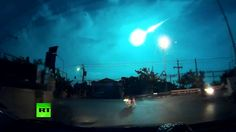Shooting Star? Meteor lights up Thailand sky