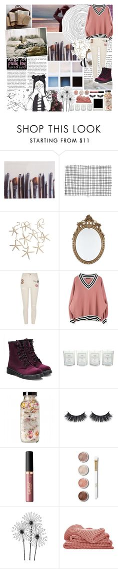 """All we do is think about the feelings that we hide"" by gabi-sweet ❤ liked on Polyvore featuring Ella Doran, River Island, Tocca, Battington, tarte, Terre Mère and Sheridan"