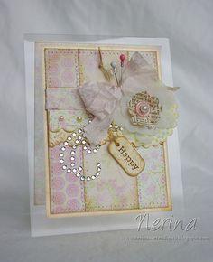 Shabby Softness by Nerina's Cards, via Flickr