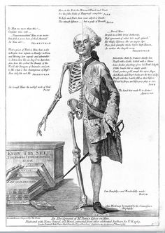 Life and Death Contrasted (ca.1770) | The Public Domain Review