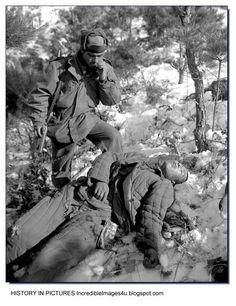 AMERICAN SOLDIERS IN KOREAN WAR