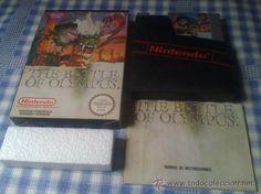 The Battle of Olympus Juego para Nintendo NES PAL Completo Versión Española