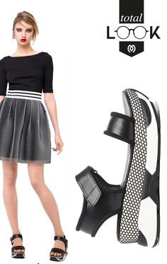45ce8c9844 Step up in sports luxe looks by Zoya with  MIGATO MD6874 sneaker sandal and  GF124