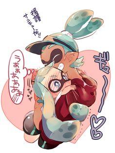 「イカ詰め【1】」/「じくの」の漫画 [pixiv] #Inkling