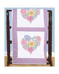 Stamped Cross Stitch Kit 18 Rose 6 Quilt Blocks Cross Stitch Pinterest Cross Stitch Kits