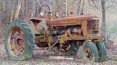old tractors Farmall