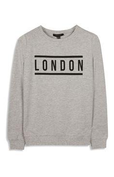 Primark - Grey London Sweatshirt
