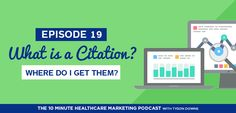 Episode 19: What is a Citation? Where do I get them?