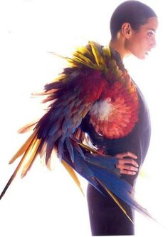 LARP costumeBird of Paradise from Jean Paul Gaultier - LARP costume