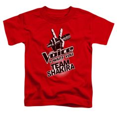 The Voice/Team Shakira-Red