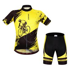 Ladies Yellow Cycling Jerseys Wosawe Bike Shirts 2017 Women s Biking  Clothing (Jerseys+Shorts 9abd64f33