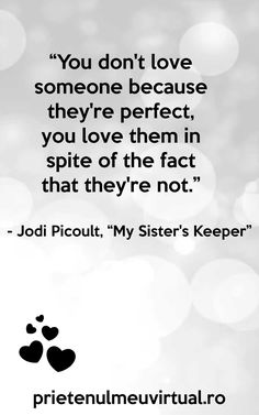 presentation_images-page-006 My Sisters Keeper, Jodi Picoult, Dont Love, Loving Someone, Presentation, Facts, Entertainment, Liking Someone, Entertaining