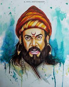 Old People Cartoon, Funny Old People, Shivaji Maharaj Hd Wallpaper, Tiger Images, Ram Photos, Warrior Drawing, Buddha Painting, Indian Art Paintings, Acrylic Painting Tutorials