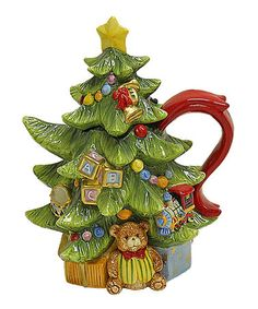 Take a look at this Toyland Christmas Teapot by Kaldun and Bogle on #zulily today!