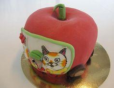 Richard Scarry theme cake — Children's Birthday Cakes