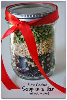 Winter Gift Idea: Soup in a Jar