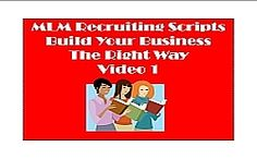 Check out the first video in the MLM Recruiting Scripts Series. www.kimthompsonpinder.com/?p=2517