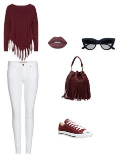 """""""Bez naslova #2"""" by ermina-camdzic ❤ liked on Polyvore featuring Boris, Burberry, Converse and Lime Crime"""