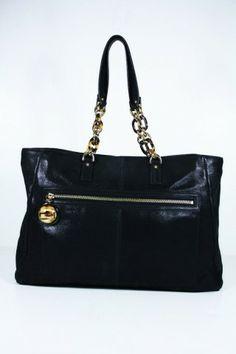 fa78bb8db5dea Beautiful black color leather bag will go for black