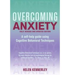 Explains a whole range of anxieties and fears from panic attacks and phobias to obsessive compulsive disorder (OCD) and generalised anxiety. This book includes an introduction to the nature of anxiety and stress and a self-help programme with monitoring sheets based on Cognitive Behavioural Therapy.