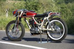 caferacerdesign:  Cafe Racer Design SourceDucati 450 RT...