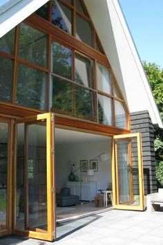 vouwpui : Дома в эклектичном стиле от Boks architectuur