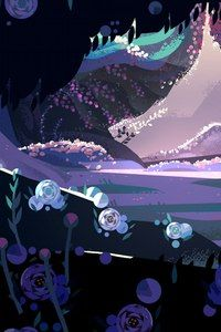 landscape from Steven Universe
