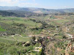 Andalucia, Ronda. Siellä nyt pala sielusta