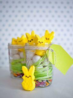 activité manuelle Pâques vases bonbons