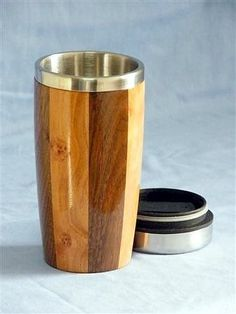 Finished Wood Turned Coffee Cup