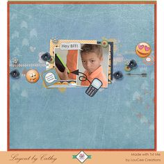 TxtMe! #LouCeeCreations is a fun kit for all those texters in your life!  The kit is filled with fun elements from word bubbles to your own phone and is perfect to scrap those phone photos or hilarious auto corrects that end up so terribly wrong. Grab it while it's on sale!  #GingerScraps, #digitalscrapbooking, #CTHS