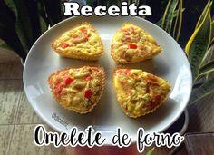Omelete de forno super fácil de fazer, rápido, nutritivo e delicioso. Venha aprender a fazer e delicie-se com essa receita!