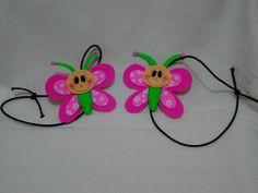 Marcador de página borboleta | artesania atelie | Elo7