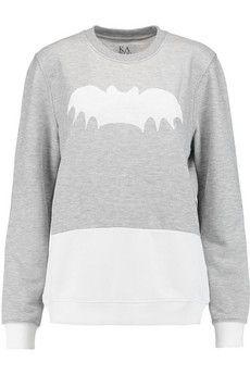 Zoe Karssen Printed jersey sweatshirt | THE OUTNET