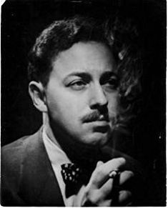 Homo History: Tennessee Williams, one of america's most famed playwright. Born: in Columbus, Mississippi. Died: in New York City Writer Tennessee Williams, Southern Gothic, Writers And Poets, Playwright, Famous People, Famous Men, At Least, Just For You, History