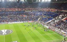 Sport: #Lione #prepartita nel #caos: tifosi in campo (link: http://ift.tt/2oE48d6 )