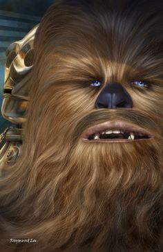 Chewbacca - Raymund Lee