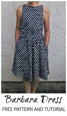 free dress pattern, free pdf sewing pattern, free sewing patterns, easy free sewing patterns online