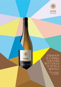 Ixsir |Wines of Lebanon | Summer 2011 on Behance