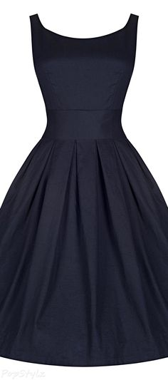 'Lana' Vintage 1950's Inspired Swing Dress