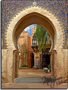 Morocco Pavilion in World Showcase at Epcot, Walt Disney World