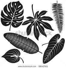Image result for tropical flower silhouette