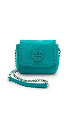 Tory Burch Women's Marion Cross-body, Electric Eel Blue, One Size - http://bags.bloggor.org/tory-burch-womens-marion-cross-body-electric-eel-blue-one-size/