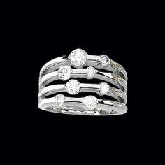 Cloud Nine Diamond Right Hand Ring