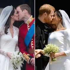 Which first kiss moment was your favorite, #KateMiddleton and #PrinceWilliam's or #MeghanMarkle and #PrinceHarry's? ❤️