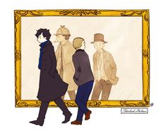 Found this adorable Sherlock Fanart! One of my favorites :)