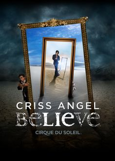 Cris Angel Believe at Luxor - not bad... i was expecting more Cirque in the show