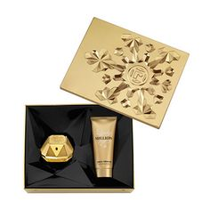 Paco Rabanne Lady Million Gift Set Includes: Paco Rabanne Lady Million EDP 50ml and Body Lotion 100ml. Paco Rabanne Lady Million is an excessive perfume that embodies the ideal woman. Paco Rabanne Lady Million is a sparkling floral tha http://www.MightGet.com/february-2017-2/paco-rabanne-lady-million-gift-set.asp