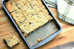 A sweet festive traybake using mincemeat. The mincemeat slices make a great alternative to traditional mince pies.