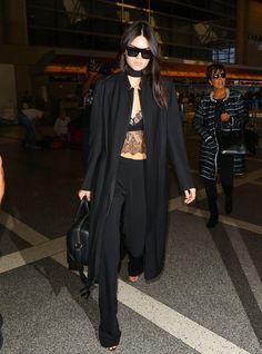 Kendall Jenner Photos: Kendall and Kris Jenner Grab Flights